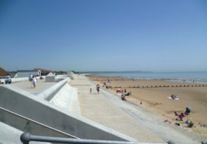Dymchurch Beach near Ocean Inn